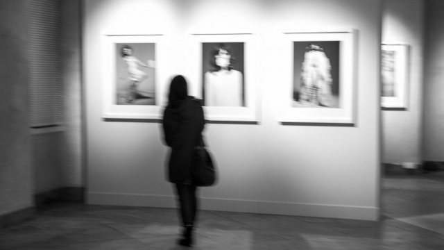 People at the Exhibitions
